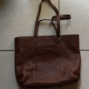 Lucky LEATHER tote